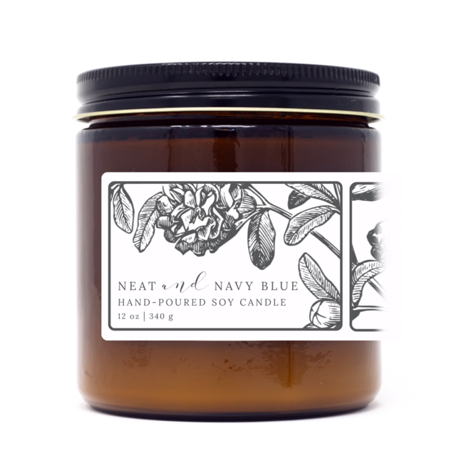 Apple Maple Bourbon | 12 oz Soy Candle