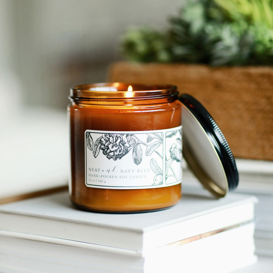 Tobacco & Honey | 12 oz soy candle