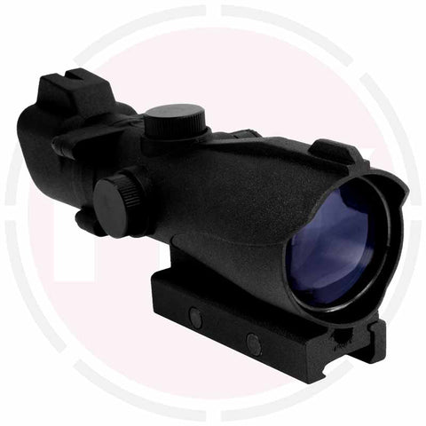 IYS 2x42 Tactical rifle scope suitable for 20mm weaver rail