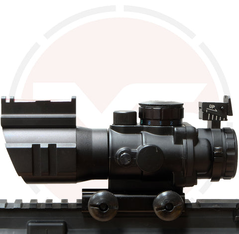 IYS Weaver rail prismatic sight with tactical rails
