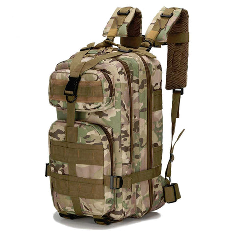 Militac - Tactical Molle 30L Rucksack in Black, Green,  MTP and Tan