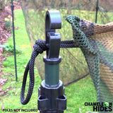 Pigeon shooting hide - Stealth ghost net