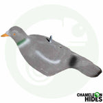 Chameleon Pigeon Shooting Decoys: 12 x Half Body Flocked Pigeon Decoys