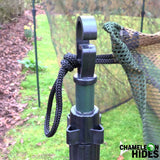 Chameleon Pigeon Shooting Decoying Kit: Hide Net, Telescopic Poles, Decoys & Bags