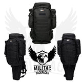 9.11 Tactical Molle Backpack Bergen / Long Gun, Sniper Rifle concealing Rucksack