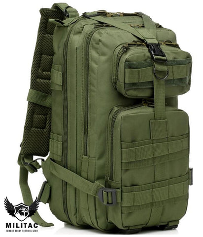 Tactical green backpack