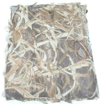 Wetland camo hide net / Wildfowl shooting netting / 1.5x4m 2 layer stealth net