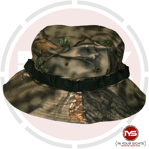 Chameleon Hunting Apparel: Realtree Style Camouflage Boonie Hat