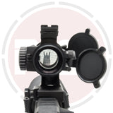 IYS M3 style red dot rifle sight / 1x35 illuminated red +green dot with Killflash