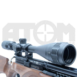 ATOM Optics 6-24x50 AO Etched reticle Rifle Scope
