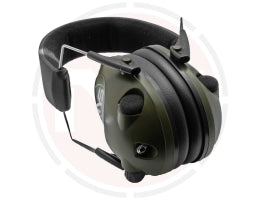 Slimline electronic shooting ear defenders