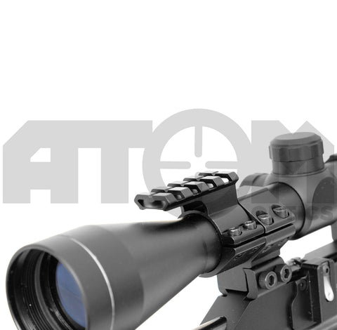 Atom 25-30mm ring rifle scope accessory mount – In Your Sights