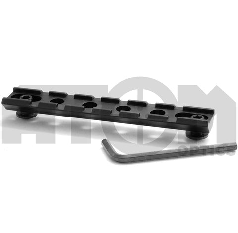 Atom Round base universal weaver rail suitable for many shooting applications