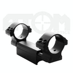 Atom Recoil absorbing 30mm rifle scope mount / 1 piece Weaver rail scope mount