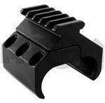 ATOM Optics Double Barrel Shotgun Mount With 5 Weaver Rail Slots