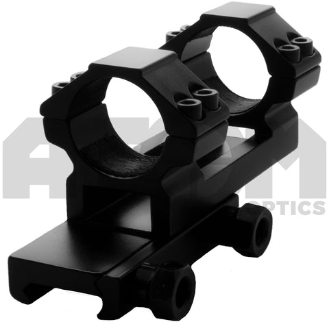 Atom 1 piece 25mm cantilever Weaver rail rifle scope mount