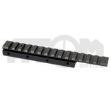 IYS Dovetail to Weaver riser rail mount / Rifle rail riser mount
