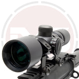 In Your Sights 3-9x40 Compact lightweight Rifle scope or Crossbow scope / Red & Green reticle