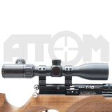 Atom 4-16x44 Side Focus Rifle Scope with glass etched illuminated reticle