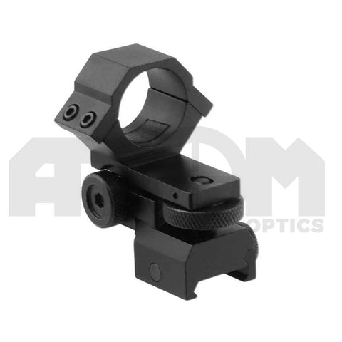 Atom Adjustable windage/elevation weaver rail torch scope mount