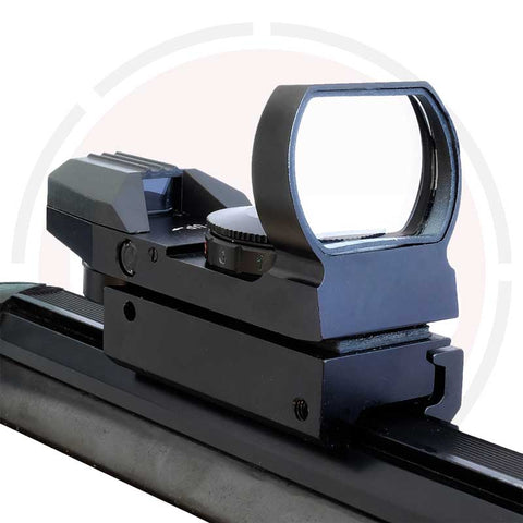 IYS Red & green holographic reflex sight to suit 11mm rifle rails.