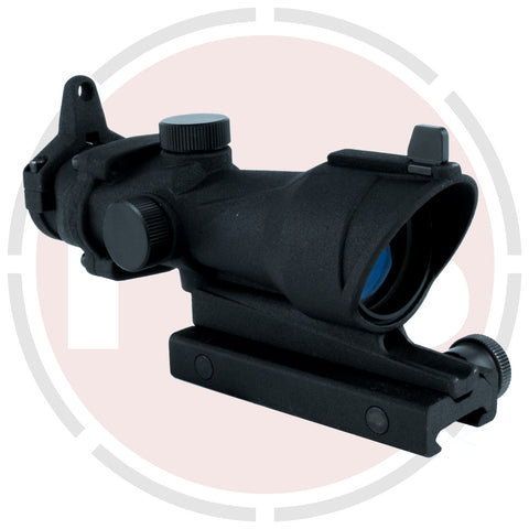 IYS ACOG Style 4x32 Tactical Rifle Scope