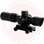 In Your Sights 1.75-5x24 Illuminated reticle rifle scope suitable for 20mm weaver rails