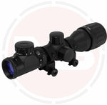 IYS 2-6x32 AO illuminated reticle rifle scope
