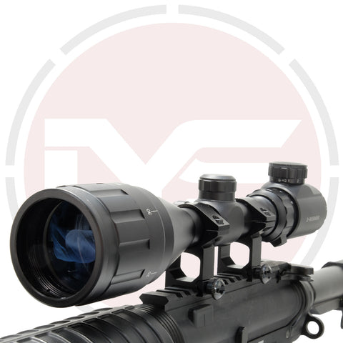 In Your Sights 3-9x50 AO Rifle Scope