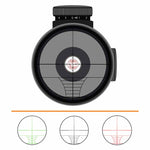 IYS 3-9x40 illuminated reticle rifle scope