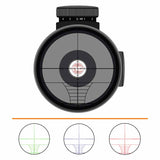 IYS 6-24x50 AO Rifle Scope with illuminated rangefinder reticle