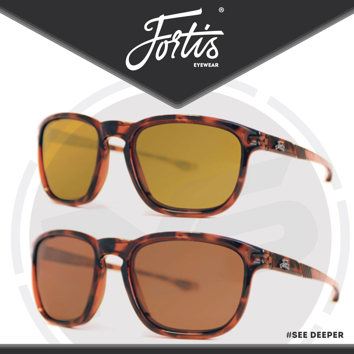 001ecb70af4 Fortis Eyewear Strokes Polarised Sunglasses – In Your Sights