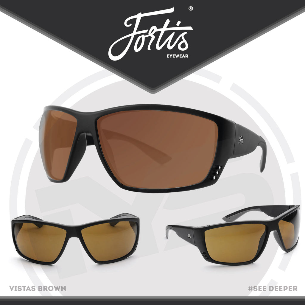08f01e3bdcc Fortis Eyewear Vista Polarised Sunglasses – In Your Sights