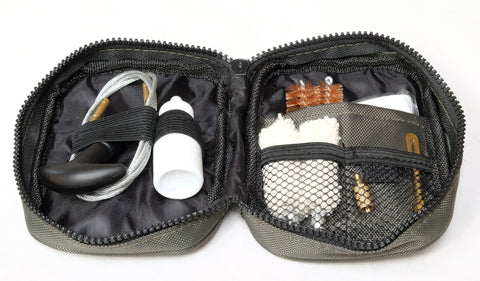 12 & 20 Gauge Shotgun Cleaning Kit in nylon carry pouch.