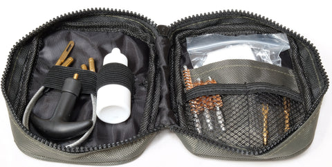 IYS Pistol Cleaning Kit to suit many calibers including: .22, .30, .38, .357, .40, .45 & 9mm
