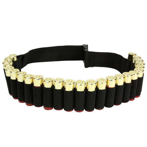 12 & 20 Gauge shotgun cartridge holder belt holds upto 25 shells