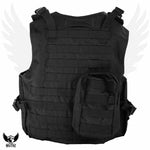 Militac Tactical Vest - Eagle Tactical Vests With Molle Straps & Pouches