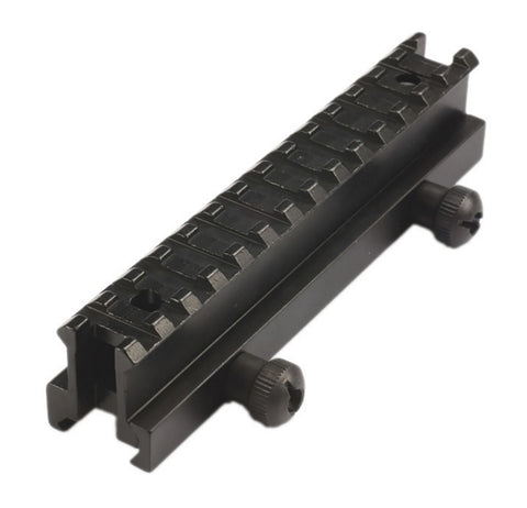 Atom Quick release 14 slot rail riser mount to suit 20mm weaver rail
