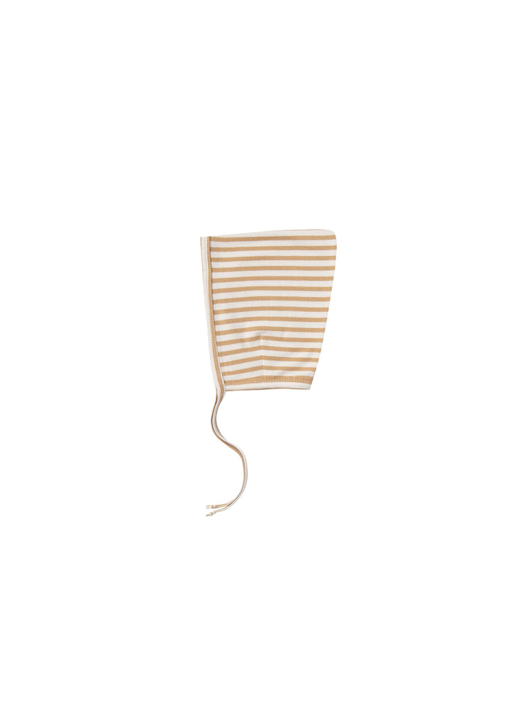 Quincy Mae - AW19 - Honey Stripe Pixie Bonnet