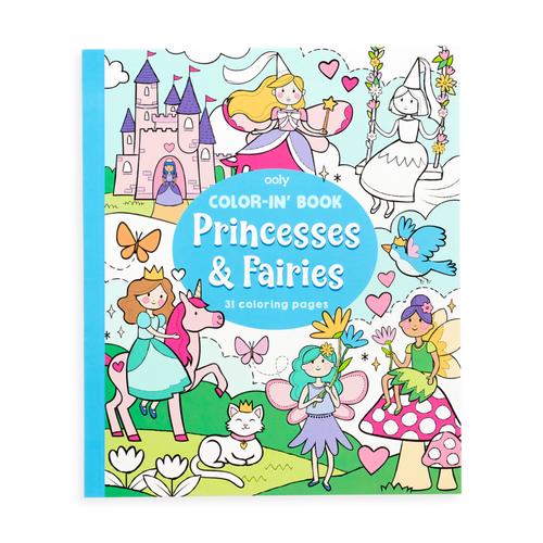 ooly - Color-in' Book: Princesses and Fairies