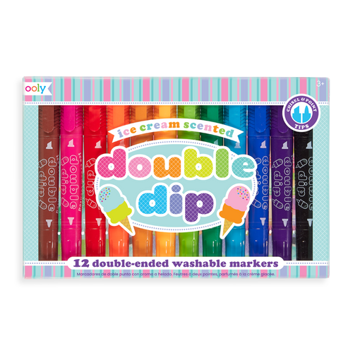 ooly - Double Dip Ice Cream Scented Markers