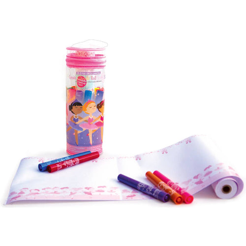 The Piggy Story - Create & Doodle Travel Set- Pretty Ballerinas