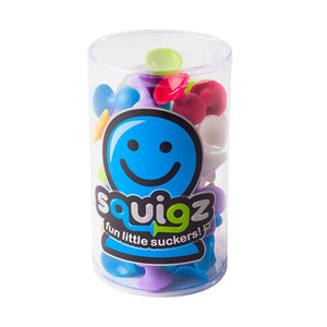 Fat Brain Toys - 24 Piece Squigz Starter Set