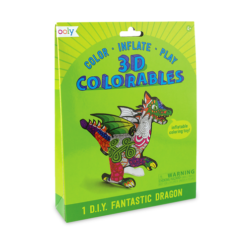 ooly - 3D Colorables - Fantastic Dragon