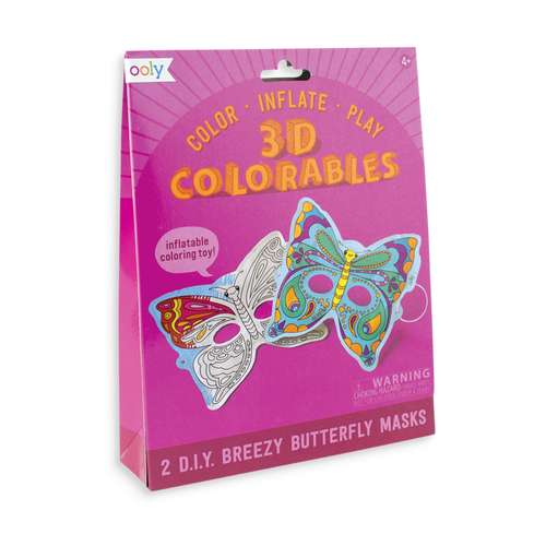 ooly - 3D Colorables - Breezy Butterfly Masks