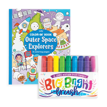 Load image into Gallery viewer, ooly - Big and Bright Outer Space Coloring Giftables Pack