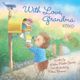 With Love, Grandma XOXO Book