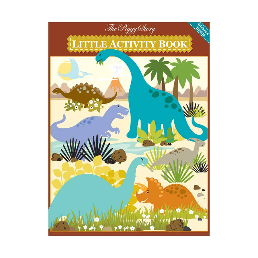 Load image into Gallery viewer, The Piggy Story - Dinosaur World Little Activity Book
