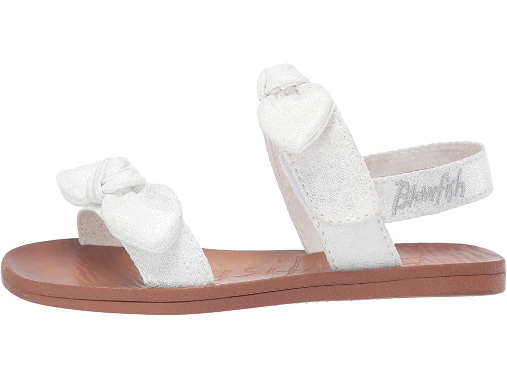 Blowfish - White Metallic Dynk Toddler Sandal