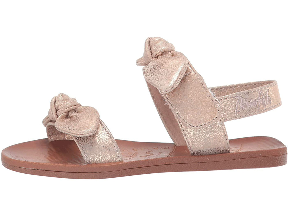 Blowfish - Rosegold Metallic Dynk Toddler Sandal